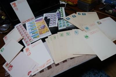ちょっぴり古い切手と葉書