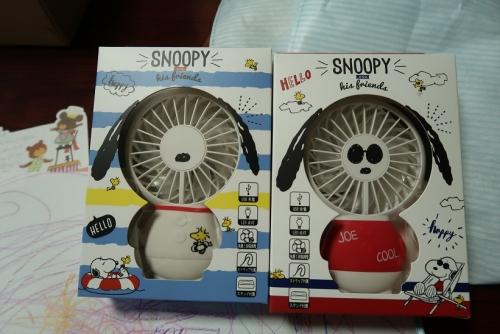 スヌーピーの扇風機