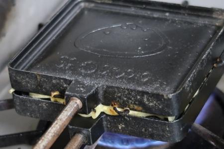 ホットサンドメーカーで梅蘭風焼きそばを作ろう9