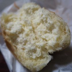 カスタード&生クリームパン