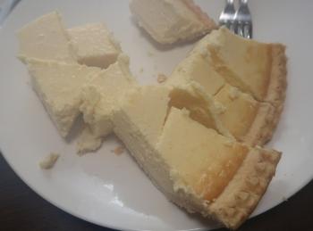 コストコのチーズタルト