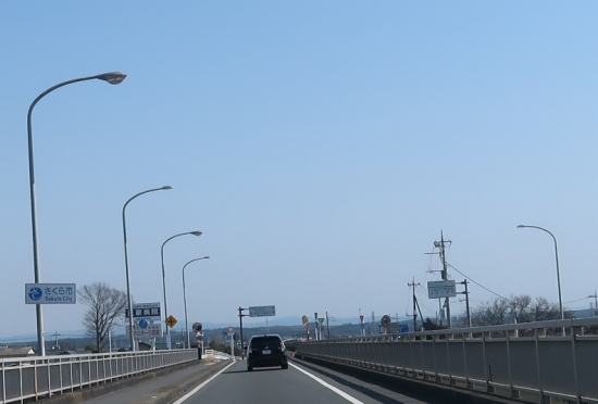 鬼怒川の橋