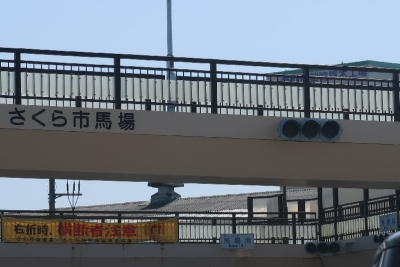 さくら市馬場の歩道橋