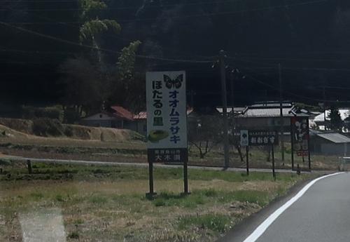 栃木 オオムラサキ蛍の里
