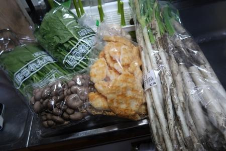 道の駅日光で買った野菜