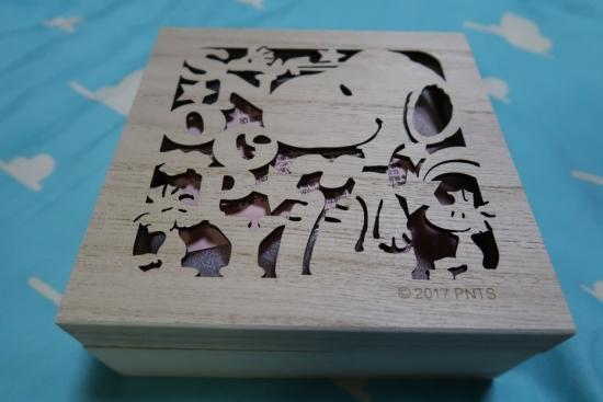 スヌーピーの箱