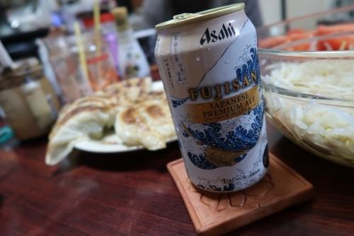 餃子にはビール