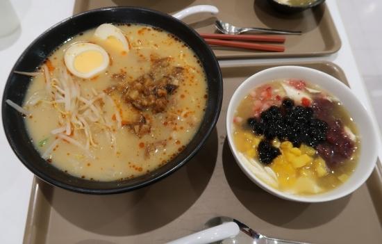 ルーロー麺とスペシャルトールファ