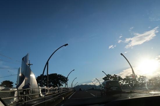 安倍川 静岡大橋