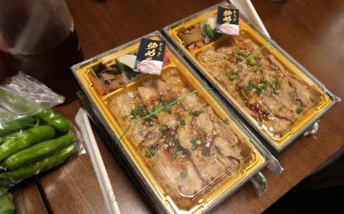栃木ゆめポークのお弁当