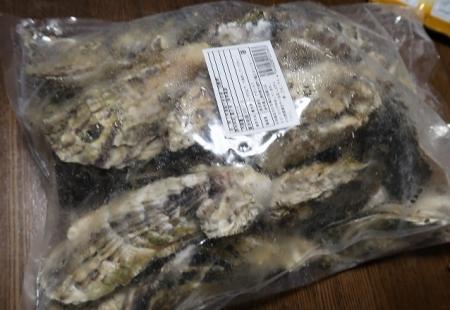 殻つき牡蠣