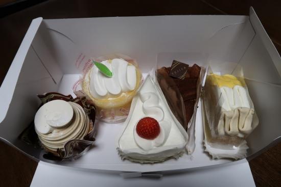 不二家さんのケーキ