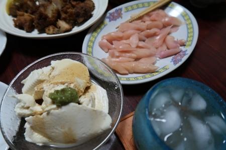 よせ豆腐、岩下の新生姜
