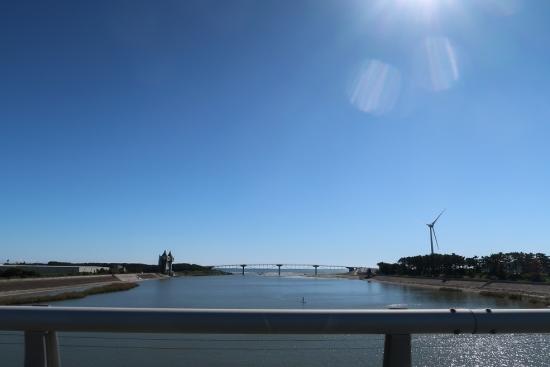 菊川河口 潮騒橋