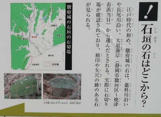 駿府城天守台発掘調査見学所