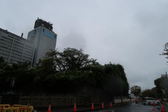駿府城公園と静岡県庁舎別館