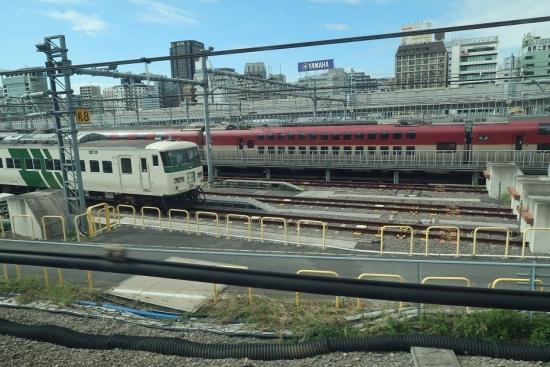新幹線から電車