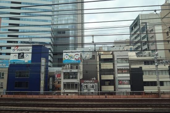 新幹線から 東京都