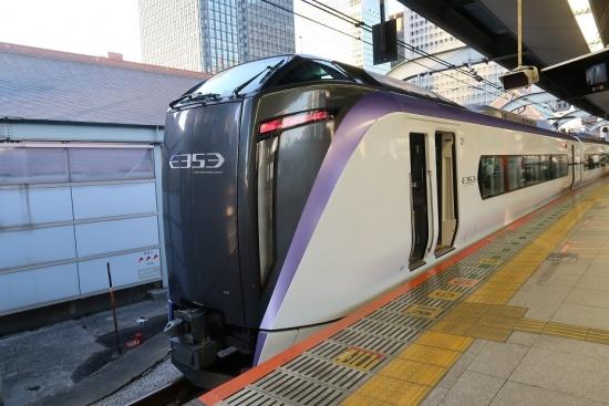 東京駅 JR E353系