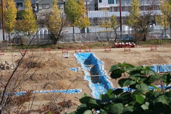 浜松城公園 発掘現場