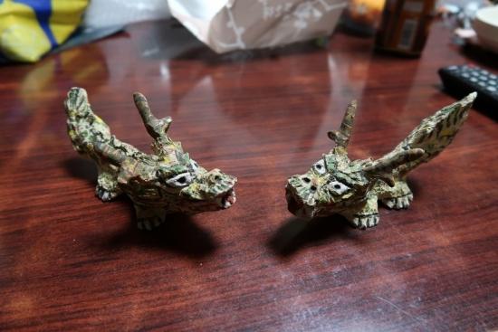 宮城光男さんのドラゴン