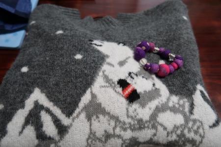 ポーラベアのセーター