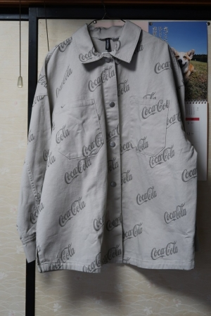コカコーラのシャツ