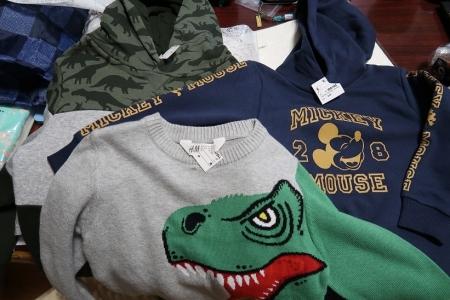 恐竜の服とか