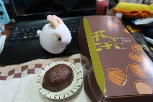 チョコマロンケーキ