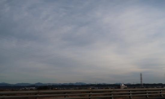 天竜川と富士山