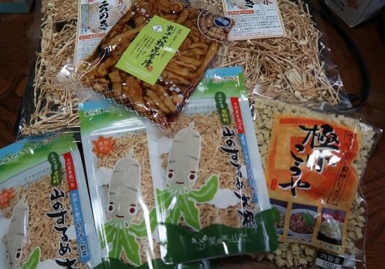 四季彩堂さんで買った食材