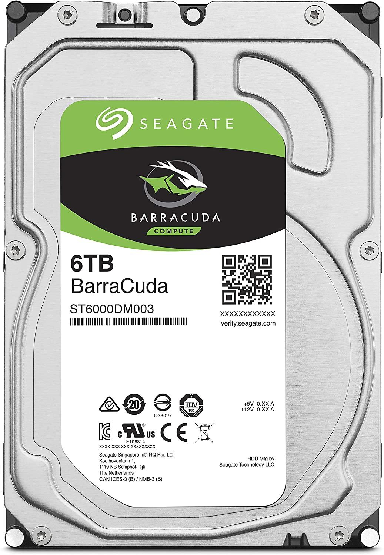 シーゲートHDD6GB