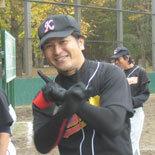 5回表、鎌田が2点本塁打を放つ