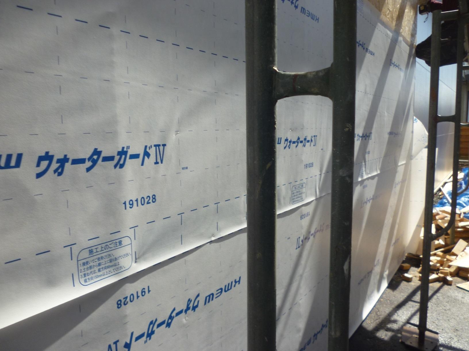 昭和センブンスヘブン新規増築 防水シート貼り3