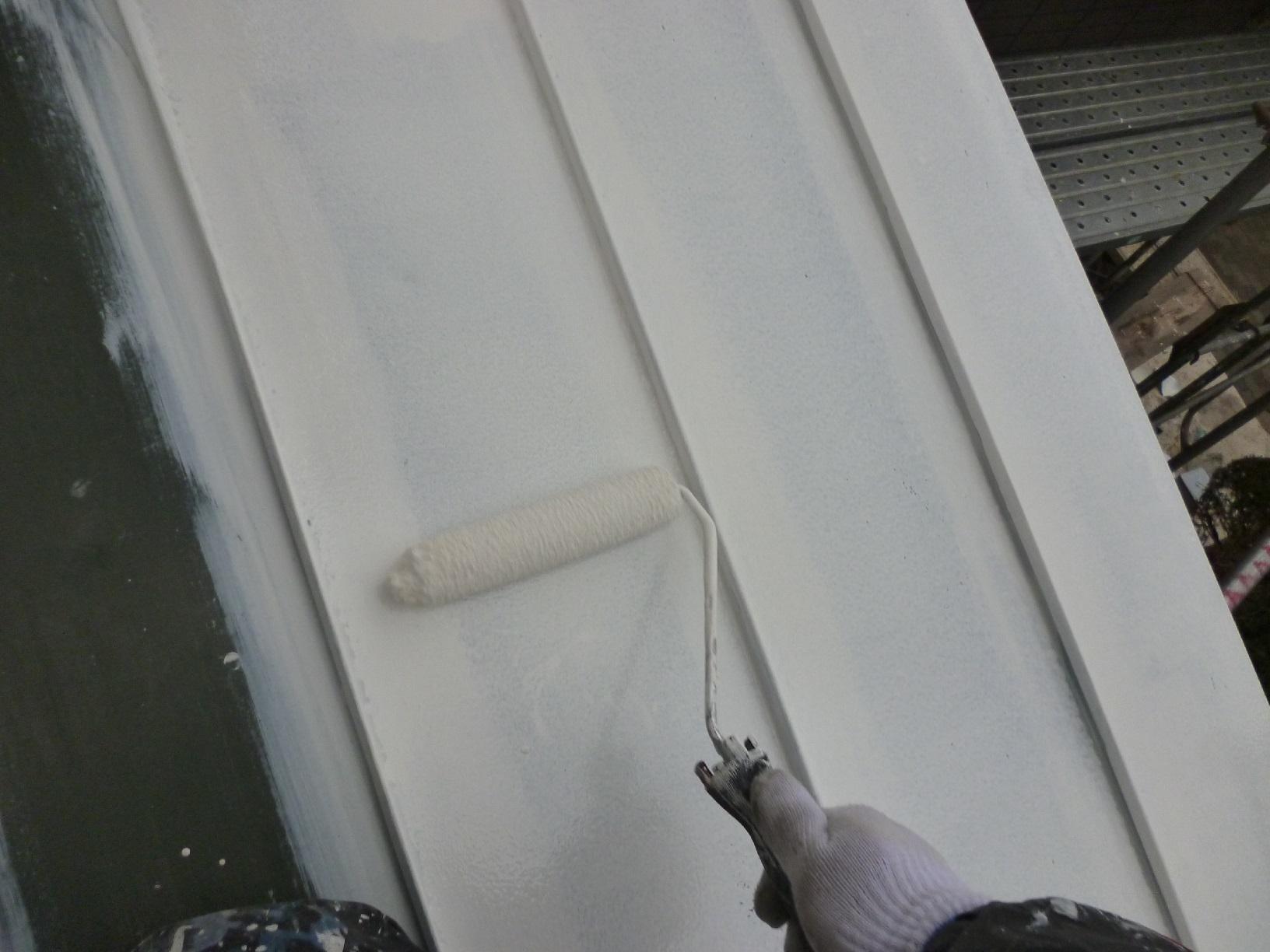 新栄町H様邸 屋根 下塗11