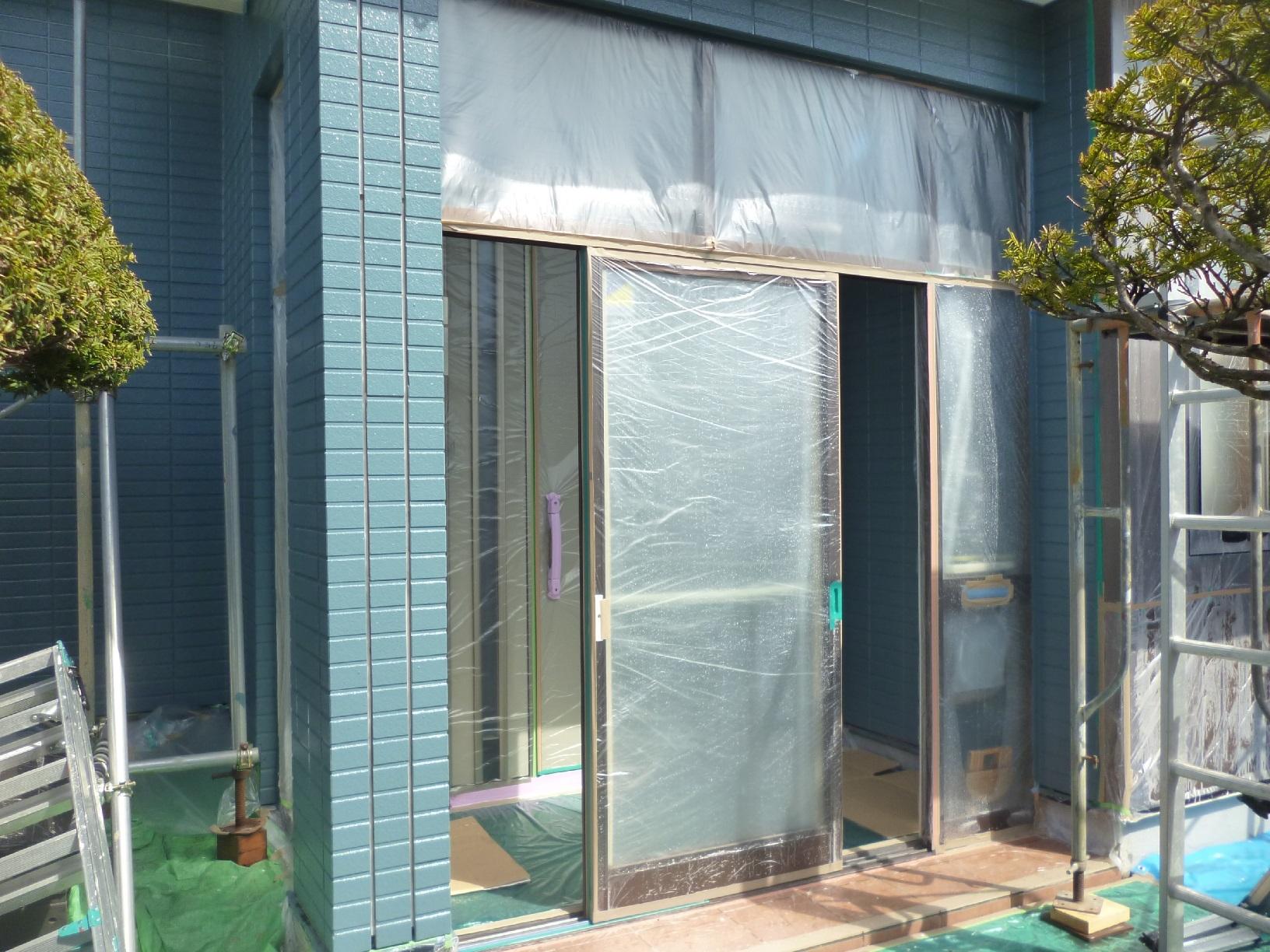 新栄町H様邸 外壁 中塗10