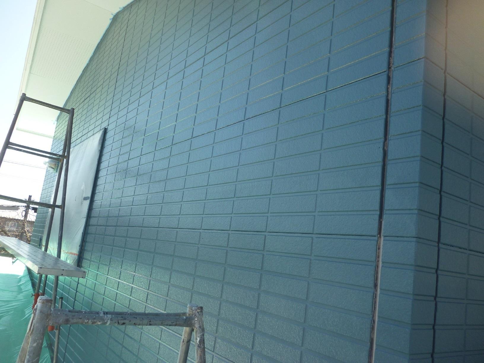 新栄町H様邸 外壁 上塗5