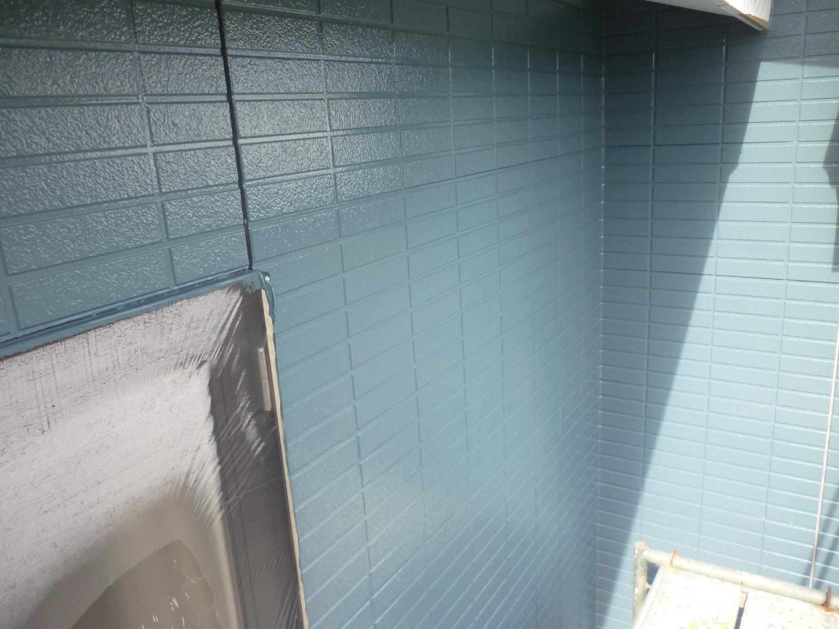 新栄町H様邸 外壁 上塗6