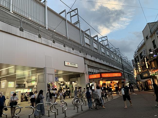 東急東横線 学芸大学駅