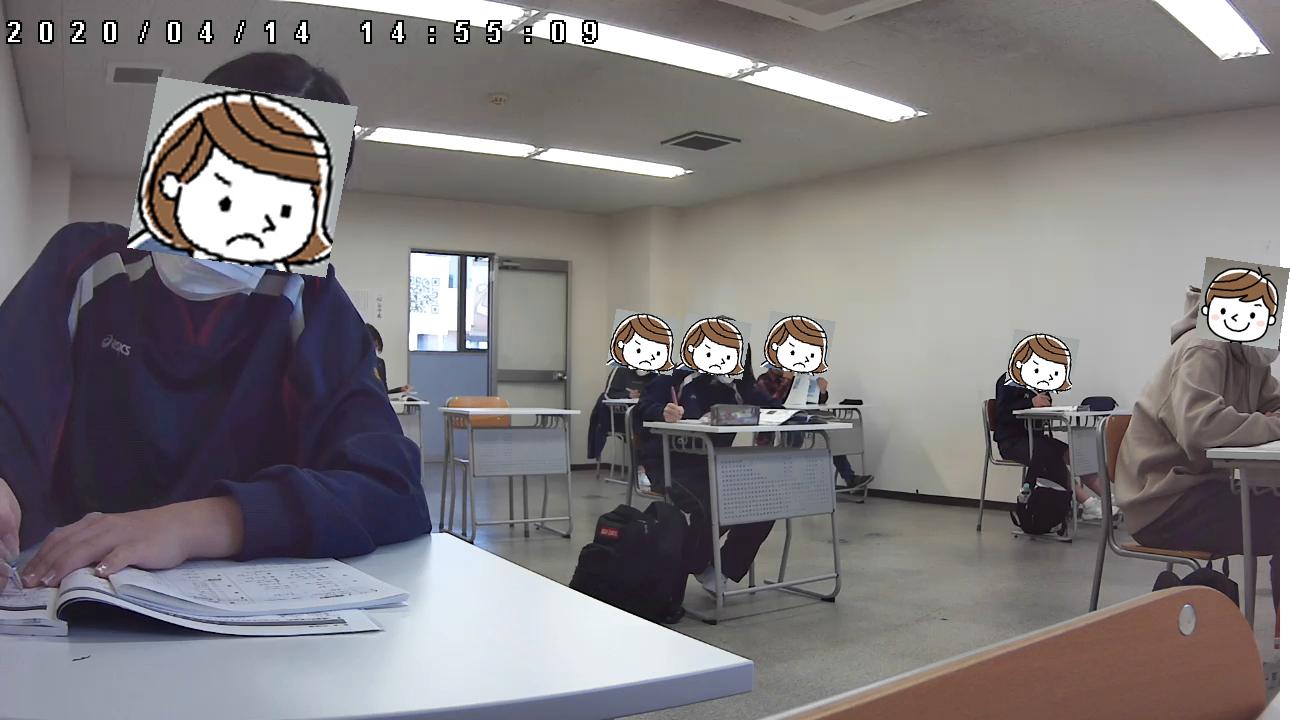 414自習室