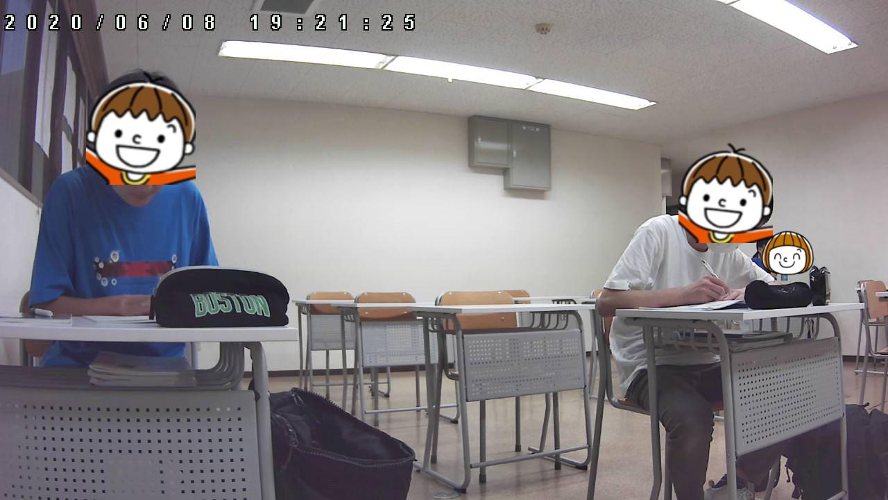608自習室