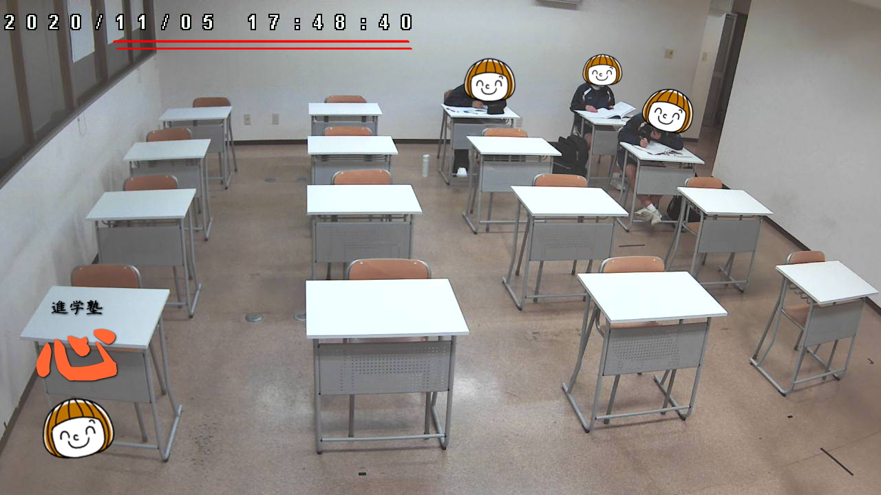 1105自習室②