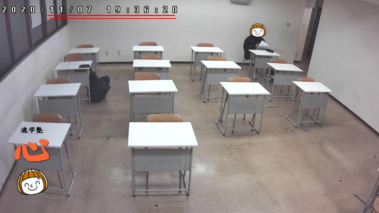 1107自習室 中3