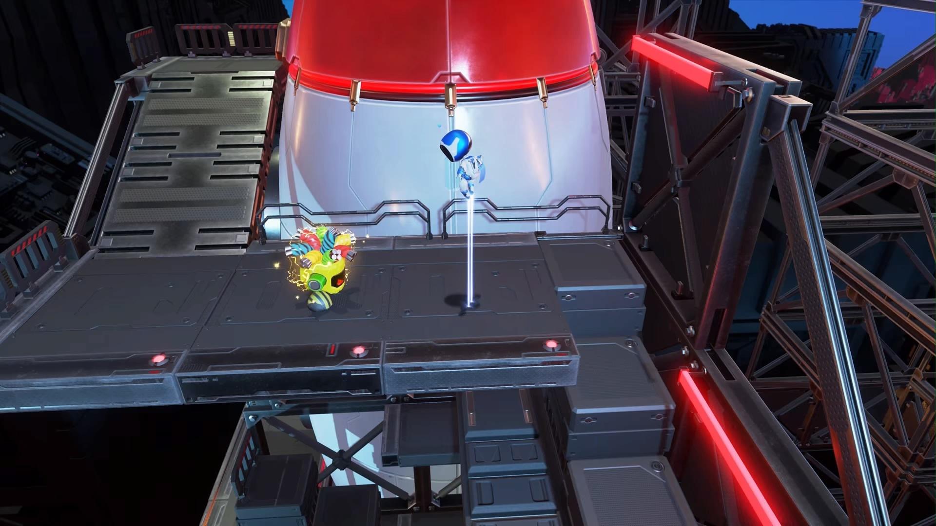 Astros Playroom® データビット発射場-2