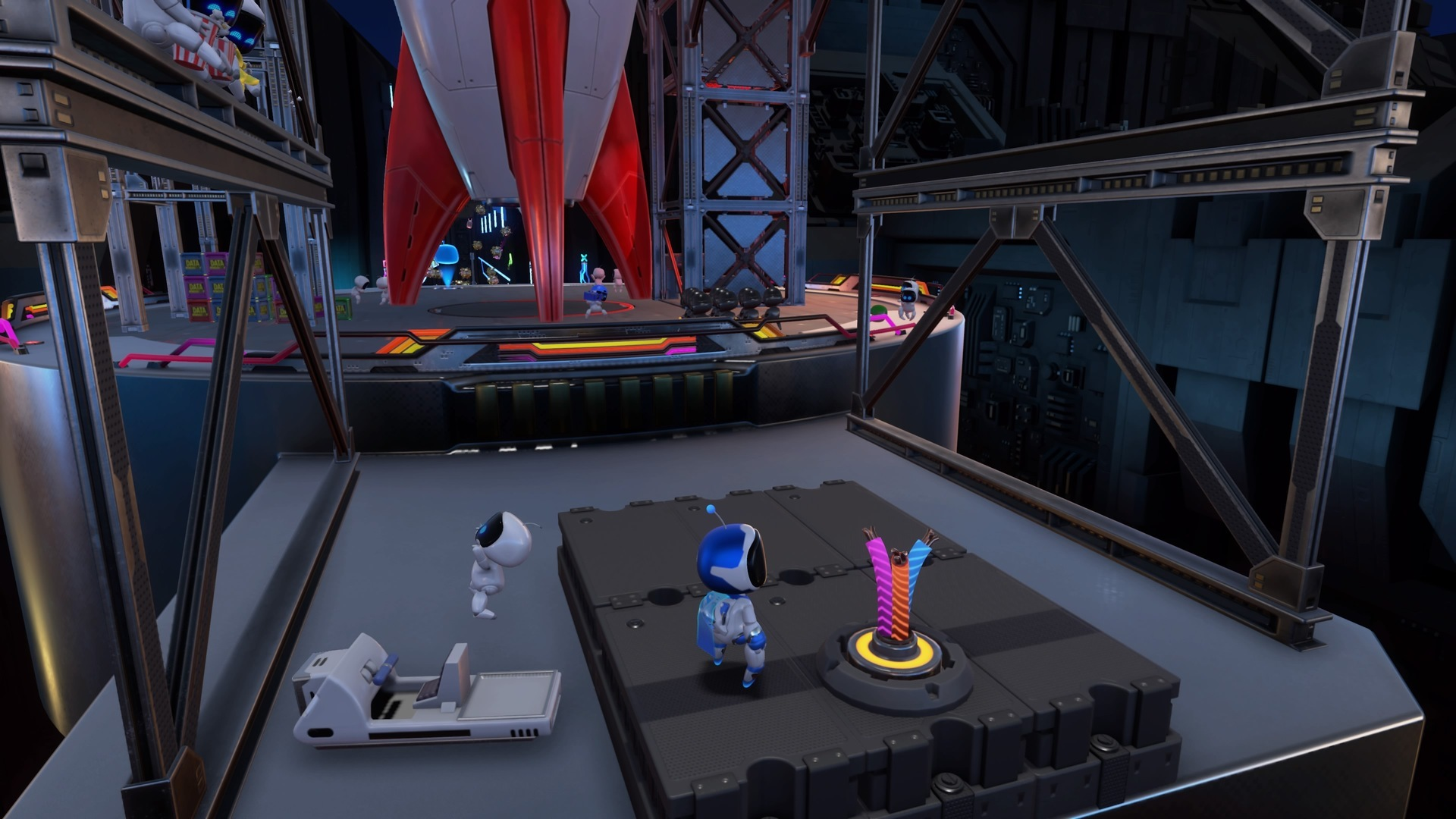 Astros Playroom® データビット発射場-4