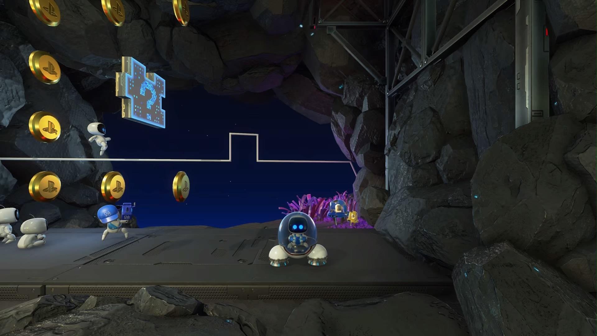 Astros Playroom® データビット発射場-5