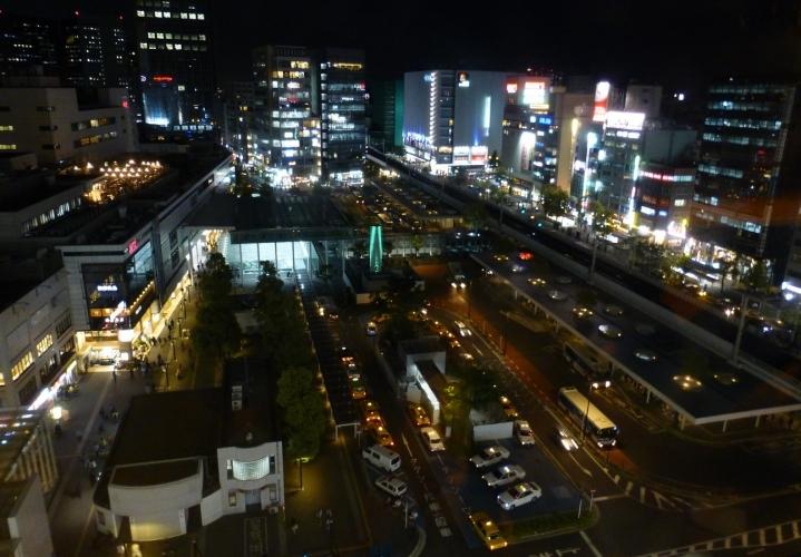 川崎駅東口夜景