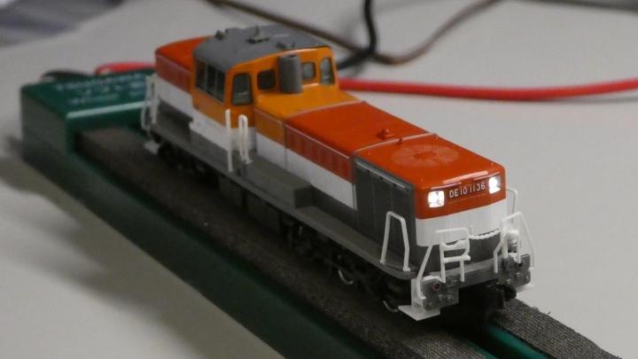 tomix DE10 クリエイト工房LED基板に交換
