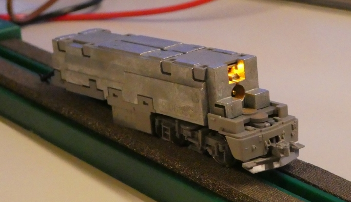 tomix EH800 LED基板交換前