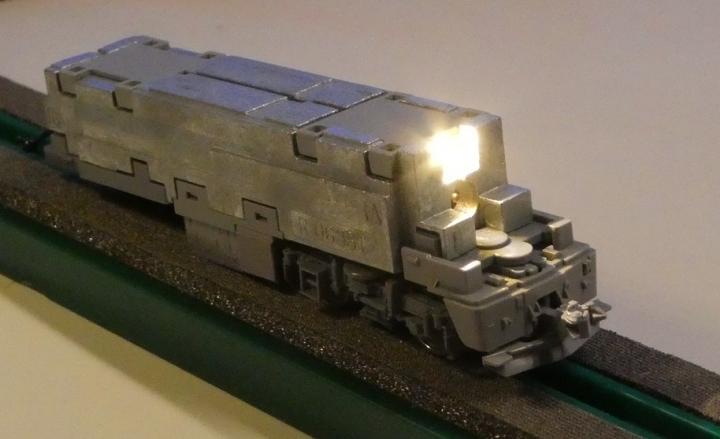 tomix EH800 クリエイト工房LED基板に交換後
